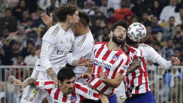 Atletico Madrid Vs Real Madrid