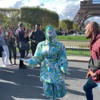 Penampilan unik Cardi B di Paris Fashion Week 2019. (dok. instagram.com/iamcardib/https://www.instagram.com/p/B290bmfgraI/Novi Thedora)