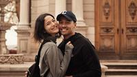 Tak beberapa lama setelah menikah, Chicco Jerikho mengumumkan istrinya, Putri Marino tengah hamil (Instagram/putrimarino)