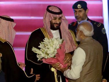 Putra Mahkota Arab Saudi di India