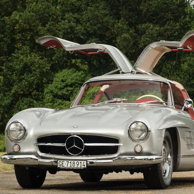 Mercedes Benz 300 Sl Gullwing Mobil Langka Milik Bj Habibie Otomotif Liputan6 Com