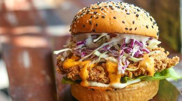 Ilustrasi Burger.