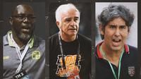 Ilustrasi - Jacksen Tiago, Mario Gomez, Teco (Bola.com/Adreanus TItus)