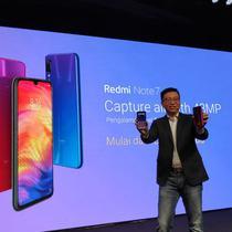 Peluncuran Redmi Note 7 di Jakarta, Kamis (21/3/2019). Liputan6.com/ Agustinus M. Damar