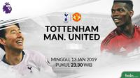 Premier League Tottenham Hotspur Vs Manchester United Head to Head (Bola.com/Adreanus Titus)