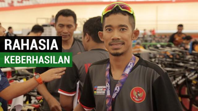 Berita video pembalap para cycling Indonesia, M. Fadli, mengungkapkan beberapa hal yang membuatnya berhasil meraih medali emas di Asian Track Cycling Championships 2019.