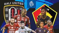 BRI Liga 1 - Duel antarlini - Bali United Vs Persik Kediri (Bola.com/Adreanus Titus)