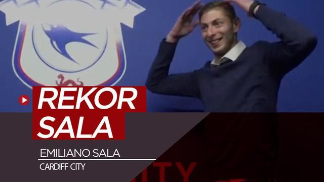 Berita video beragam rekor yang pernah dicetak striker Cardiff City yang tewas dalam kecelakaan pesawat, Emiliano Sala.