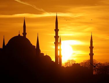 Pemandangan Indah Matahari Terbenam di Berbagai Negara