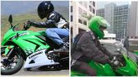 Modifikasi sepeda jadi motor keren. (Sumber: Twitter/@maswanz)