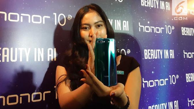 Peluncuran Honor 10 di Indonesia. Liputan6.com/Agustin Setyo W