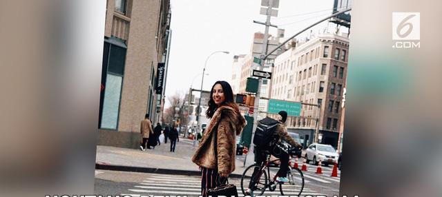 Cara nekat ditempuh seorang perempuan di New York untuk menjadi selebgram, yakni dengan berhutang.