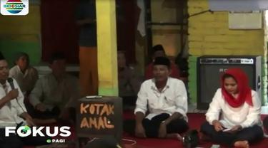 Puti Guntur Soekarno, berdialog dan mendengarkan keluhan warga Gunung Pucangan, Mojokerto.