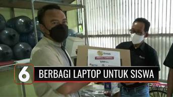 VIDEO: YPP SCTV-Indosiar kembali Bagikan Laptop dan Modem untuk Warga Terdampak Pandemi