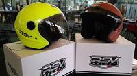 RSV Helmet tengah kembangkan helm klasik berbahan karbon (Septian/Liputan6.com)