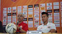 Pelatih Edson Tavares berharap Persija Jakarta bisa meraih poin penuh saat melawan Persela Lamongan. (dok. Persija Jakarta)
