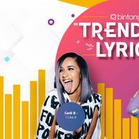 Lagu-lagu terbaik tersaji berikut lirik di Bintang Trending Lyrics pekan ini. (Desain: Muhammad Iqbal Nurfajri/Bintang.com)