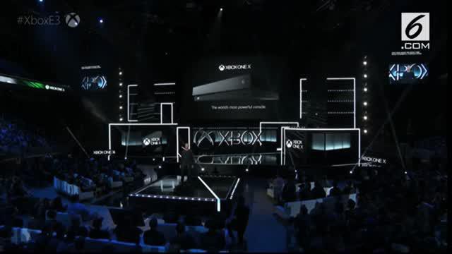 Microsoft akhirnya merilis Project Scorpio yang diberi nama Xbox One X pada  ajang Electronic Entertainment Expo 2017.