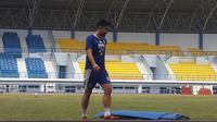 Mantan pemain Borneo FC, Kunihiro Yamashita. (Bola.com/Erwin Snaz)