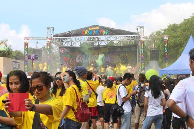 Kemeriahan Colour Fun bersama Jawa Timur Park 2 Malang   Photo: Copyright Doc Vemale.com