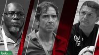 Trivia Geliat 3 Pelatih Amerika Latin di Liga 1 2019 (Bola.com/Adreanus Titus)
