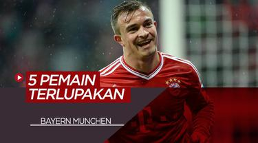Berita VIdeo Termasuk Xherdan Shaqiri, Berikut 5 Pemain Terlupakan Bayern Munchen