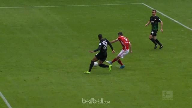 Berita video pesta gol Bayern Munchen ke gawang Augsburg. This video presented by BallBall.