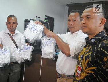 Kepolisian Timor Leste Serahkan Sampel Prekursor Ke BNN