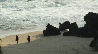 Lokasi Ditemukan Jasad Korban Laka Laut Gunungkidul