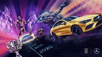 Riot Games jalin kemitraan eksklusif dengan Mercedes-Benz untuk turnamen esports League of Legends. (Doc: Mercedes-Benz/ Riot Games)