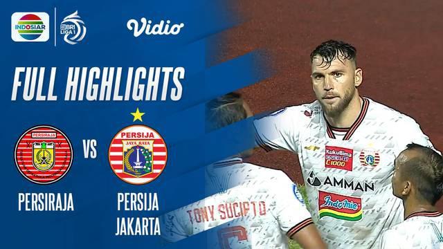 Berita video highlights laga pekan keenam BRI Liga 1 2021/2022 antara Persiraja Banda Aceh melawan Persija Jakarta yang berakhir dengan skor 0-1, di mana gol satu-satunya tercipta berkat torehan penalti Marko Simic, Sabtu (2/10/2021) malam hari WIB.