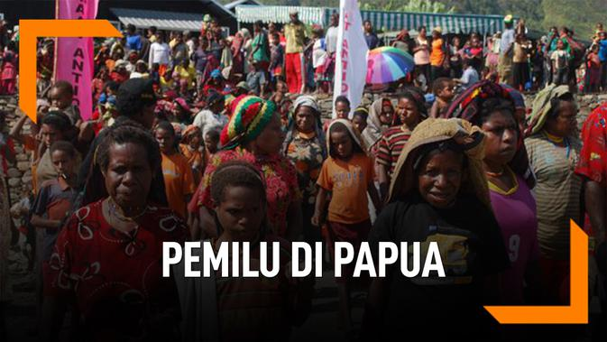Penjelasan Pemilu Sistem Noken, Yang Akan Dipakai di Papua