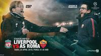 Liverpool vs Roma (Liputan6.com/Abdillah)