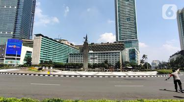 Suasana Hari Pertama PPKM Darurat di Jakarta