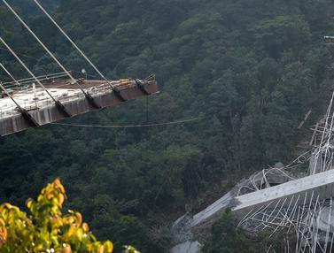Jembatan di Kolombia Ambruk