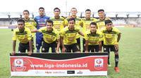 Semen Padang tak mau kehilangan poin lagi pada babak 8 besar Liga 2 2018. (Bola.com/Arya Sikumbang)