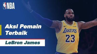 Berita video aksi-aksi terbaik LeBron James saat LA Lakers kalahkan Milwaukee Bucks, Jumat (22/1/21)