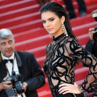 Sebagai saudara perempuan, Kylie Jenner berusaha menampik isu operasi plastik pada saudaranya itu. Kylie mengunggah sebuah video dimana dirinya sedang menghapus lipstick pada bibir Kendall. (AFP/Bintang.com)