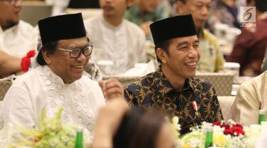 Presiden Jokowi Hadiri Buka Bersama Ketua DPD RI