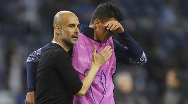 Ekspresi Pemain Manchester City Gagal Juara Liga Champions