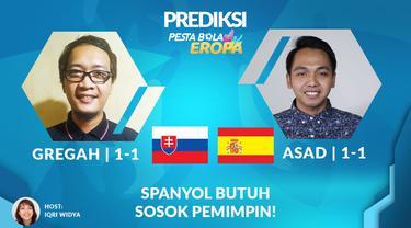 Berita Video Prediksi Pertandingan Spanyol vs Slovakia, pada Rabu (23/6/2021)