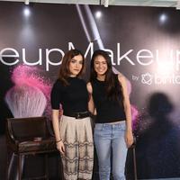 Acara MakeupMakeup series 2 yang meriah dengan kehadiran Aurelie Moeremans. (Daniel Kampua/Bintang.com).
