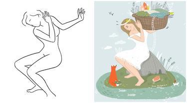 Berawal dari Sketsa Sederhana, 6 Lukisan Karya Seniman Ini Bikin Takjub