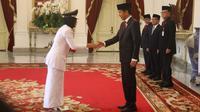 Pelantikan Gubernur dan Wakil Gubernur di Istana Negara.