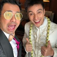 Baim Wong sempat latihan ijab kabul dengan Raffi Ahmad sebelum nikahi Paula Verhoeven. (instagram/raffinagita1717)