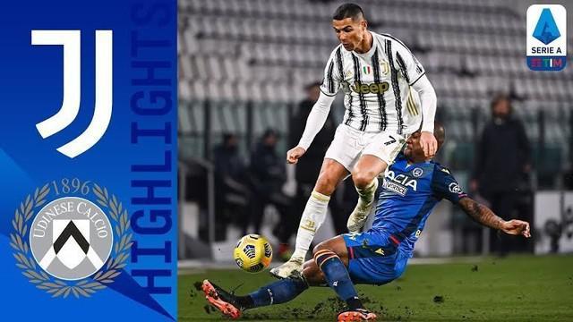 Berita Video Cristiano Ronaldo Sumbang 2 Gol Saat Juventus Melawan Udinese