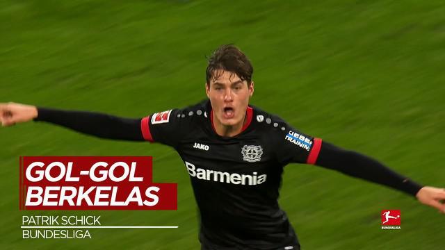 Berita Video Cuplikan Gol dari Penyerang Republik Ceko, Patrik Schick di Bundesliga Musim 2020/2021
