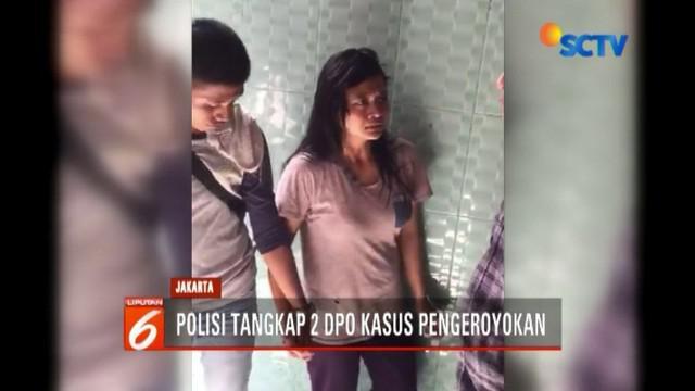 Polisi kembali tangkap pasangan suami istri yang jadi DPO penganiayaan anggota TNI di Ciracas, Jakarta Timur.