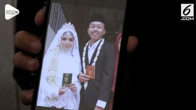 Salah satu korban kecelakaan pesawat Lion Air JT 610 adalah pria yang baru saja menikah 2 minggu. Ia berangkat ke Pangkal Pinang untuk bekerja.