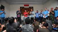 Menpora Zainuddin Amali berharap banyak atlet muda angkat besi yang mendapatkan kesempatan tampil di SEA Games 2019. (Kemenpora/Satria)